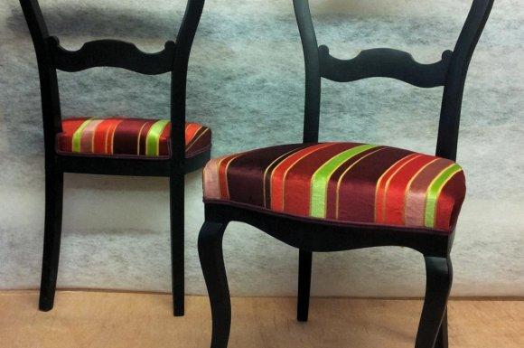 Chaise + chevalet de nuit à Toulouse