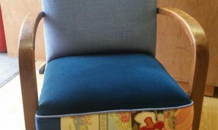 Catherine: fauteuil Studio après loisir créatif en tapisserie d'ameublement Toulouse