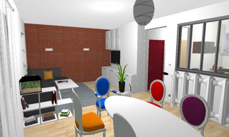 appartement en vue visite