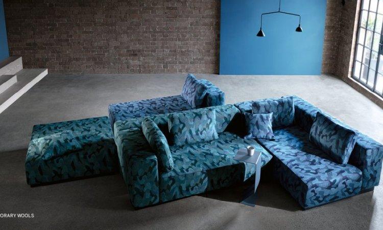 KIRKBY DESIGN - Éditeur de tissus - Beam Laines contemporaines