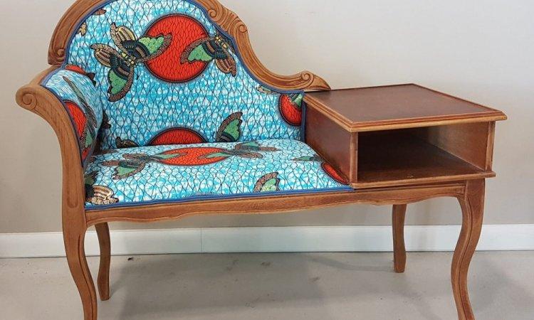 Alix: meuble téléphone après loisir créatif en tapisserie d'ameublement Toulouse