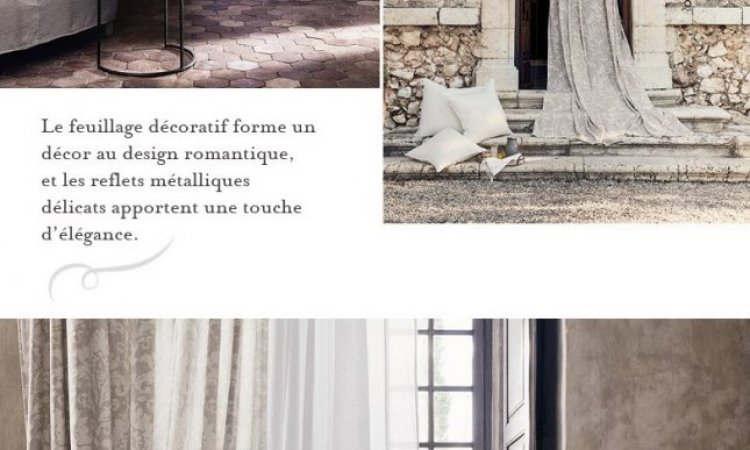 ROMO - Éditeur de tissus - Okari Voilages Décoratifs